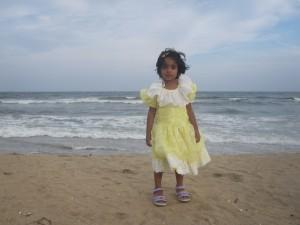 Am Marina Beach, Chennai