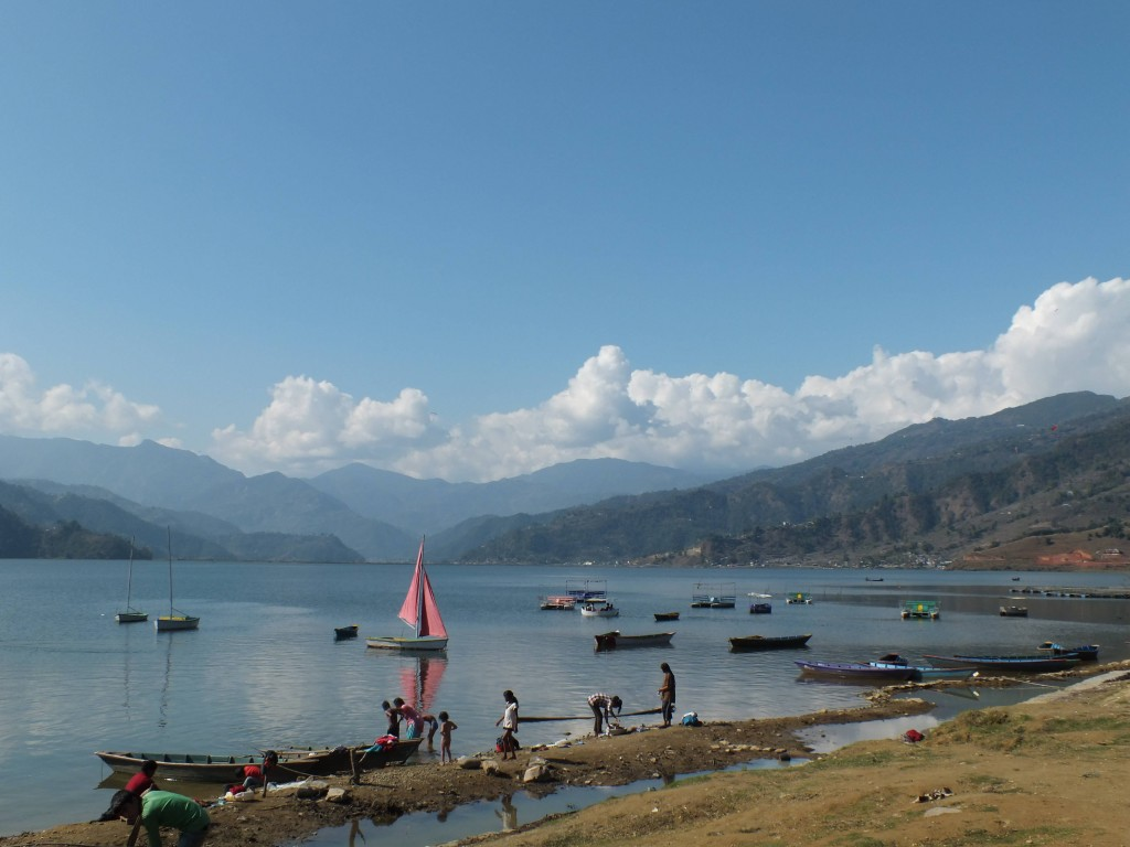 See bei Pokhara